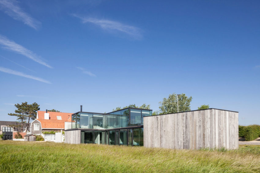 Govaert & Vanhoutte Architects Design a Contemporary Home in Knokke