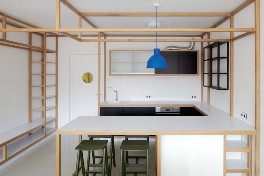 Guest Apartment by Mjölk Architects & DDAANN (9)