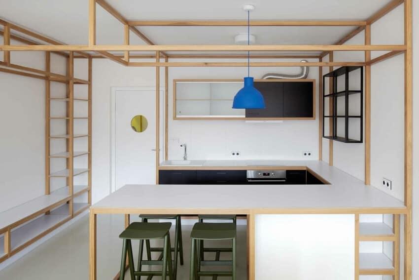 Guest Apartment by Mjölk Architects & DDAANN (9)