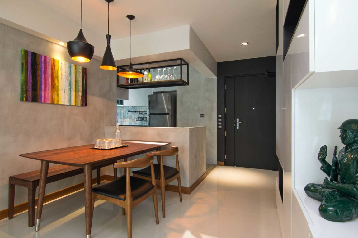 Home in Singapore by Vievva Designers (1)