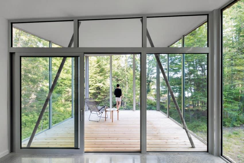 House on Lac Grenier by Paul Bernier Architecte (5)