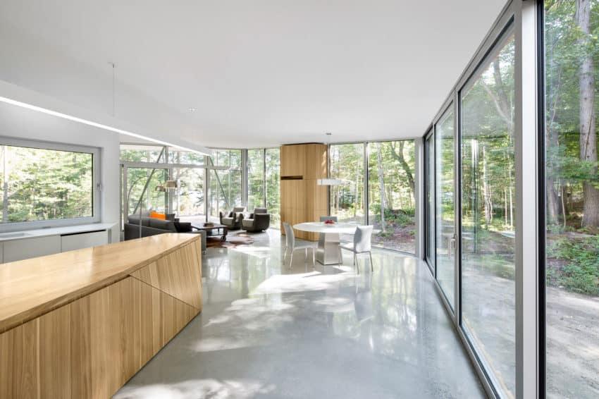 House on Lac Grenier by Paul Bernier Architecte (10)