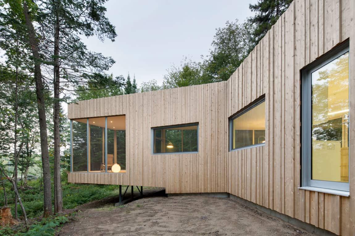 House on Lac Grenier by Paul Bernier Architecte (13)