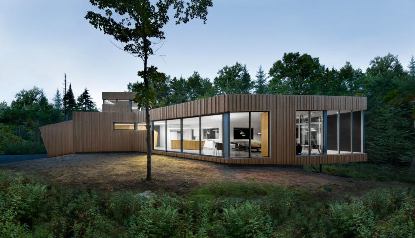House on Lac Grenier by Paul Bernier Architecte (15)