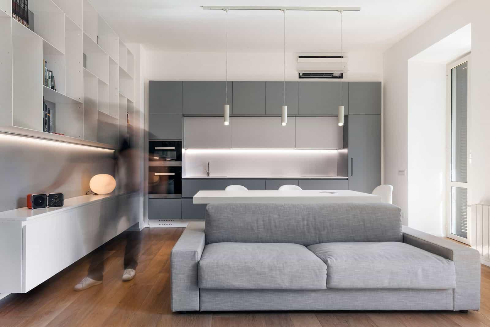 Luca Peralta Studio Design A Minimalist Apartment In The