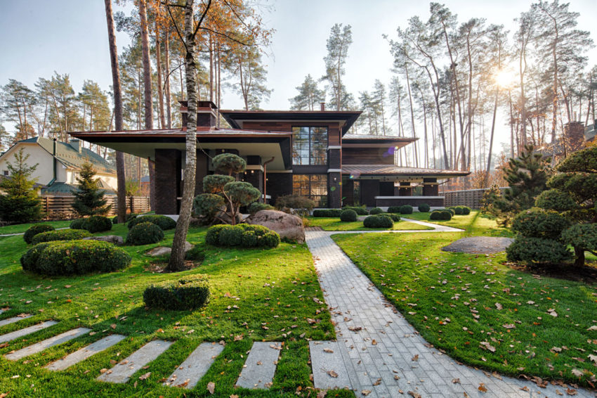 View in gallery prairie house by yunakov architecture 2