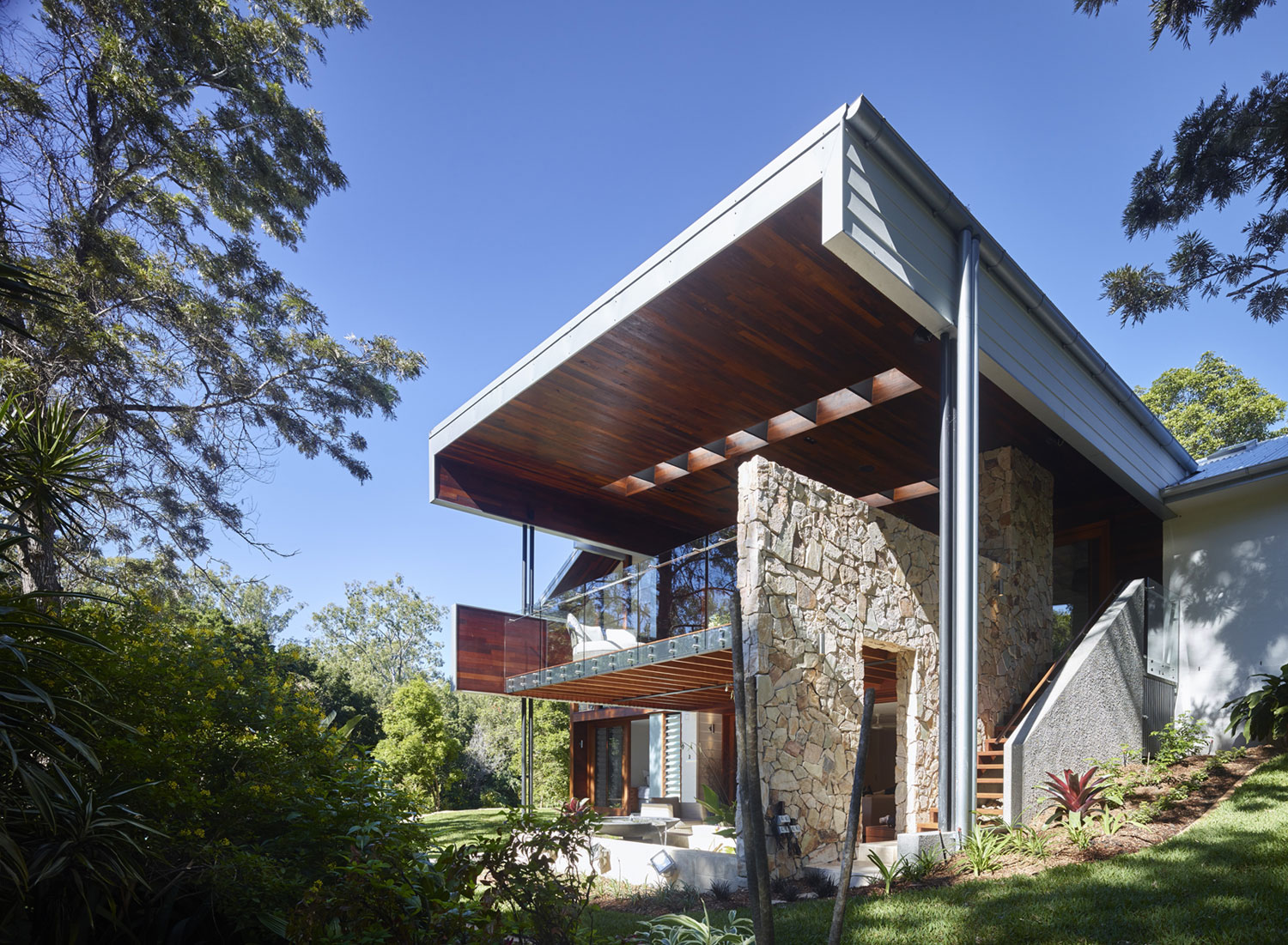 A Contemporary Home in the Forests of Kenmore Hills