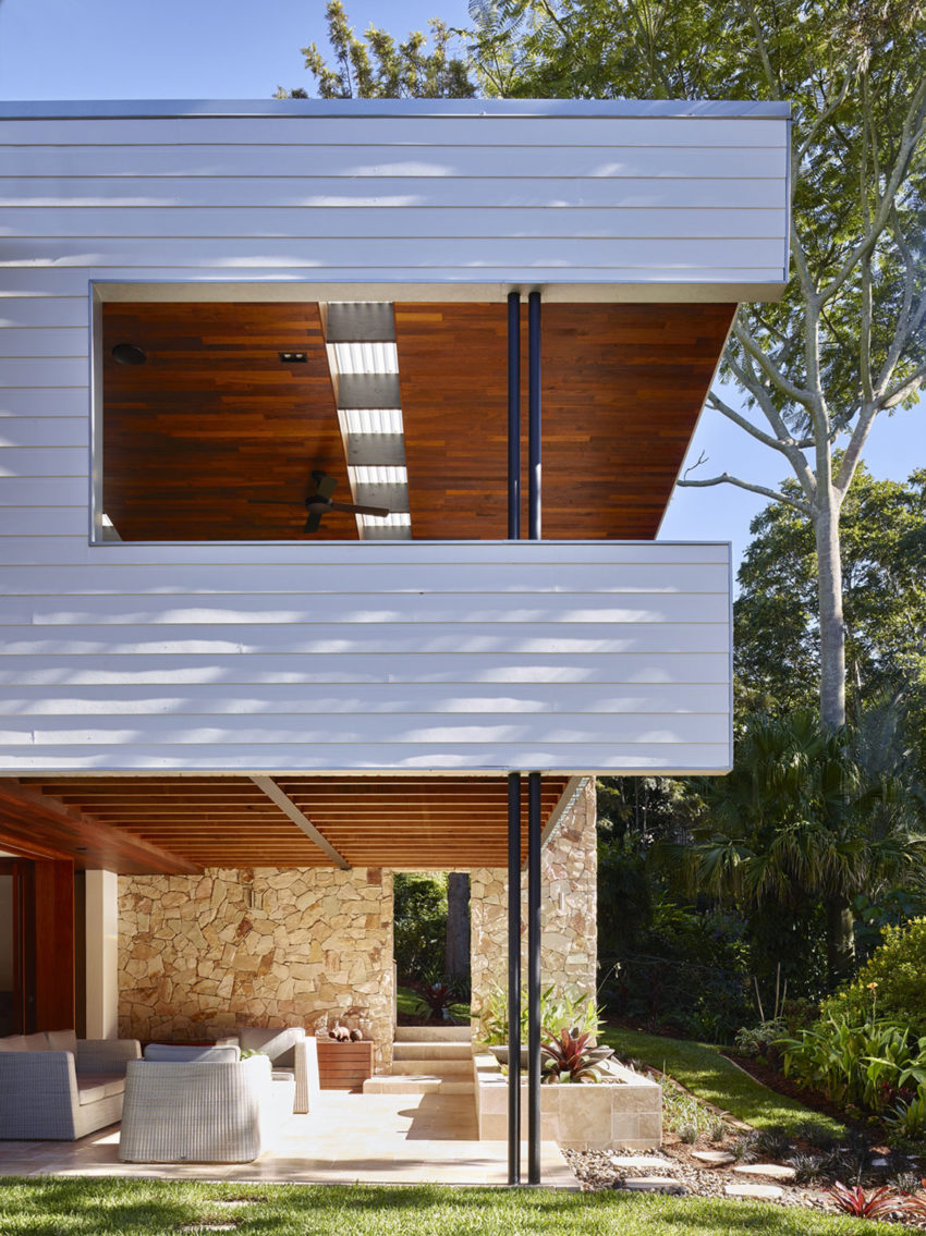 The Creek House by Shaun Lockyer Architects (4)