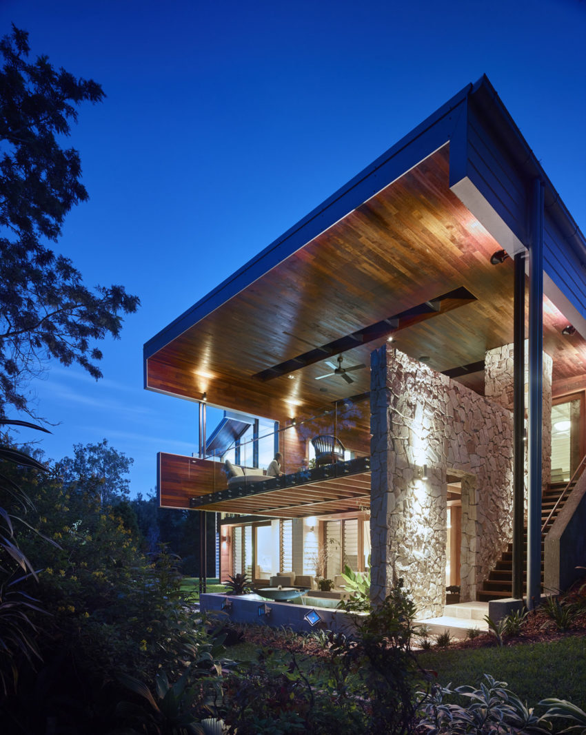 The Creek House by Shaun Lockyer Architects (16)