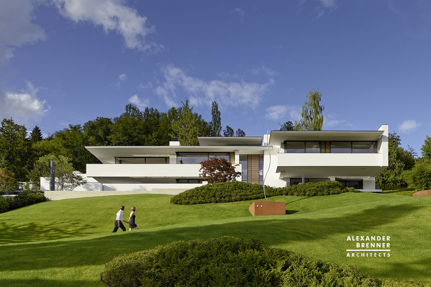 Alexander brenner architects design a contemporary home in for Contemporary residence