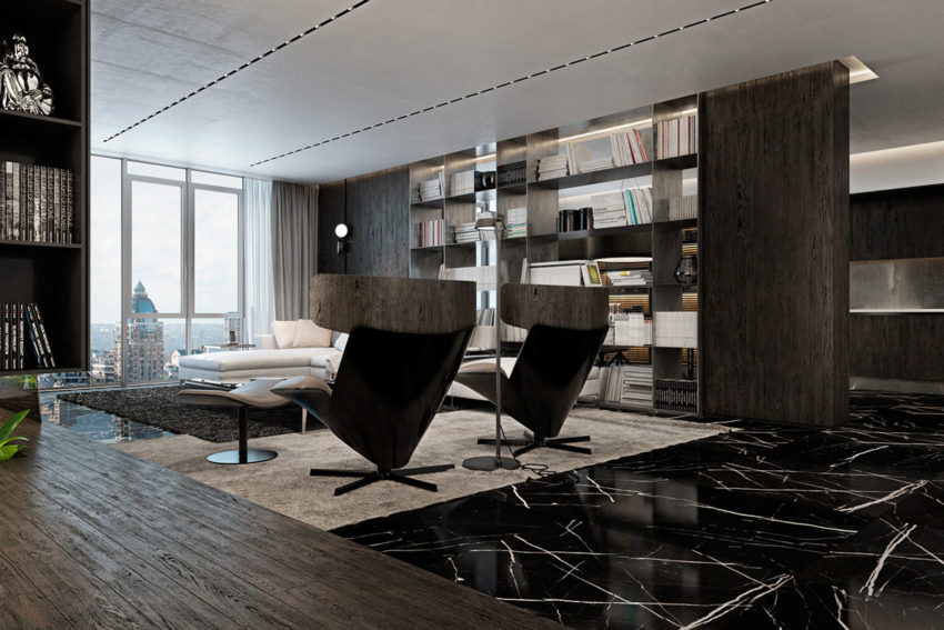 Apartment in Kiev by Iryna Dzhemesiuk & Vitaly Yurov (9)