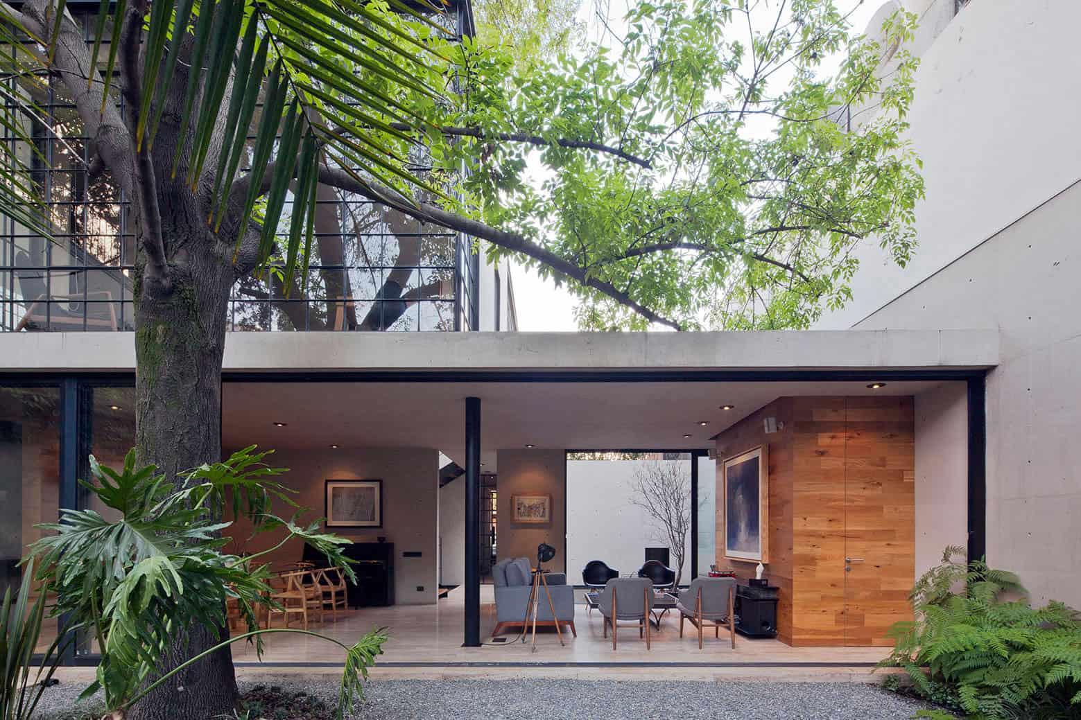 Warm Contemporary Home in Mexico City