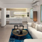 Garden Apartment by BLV Design/Architecture (3)
