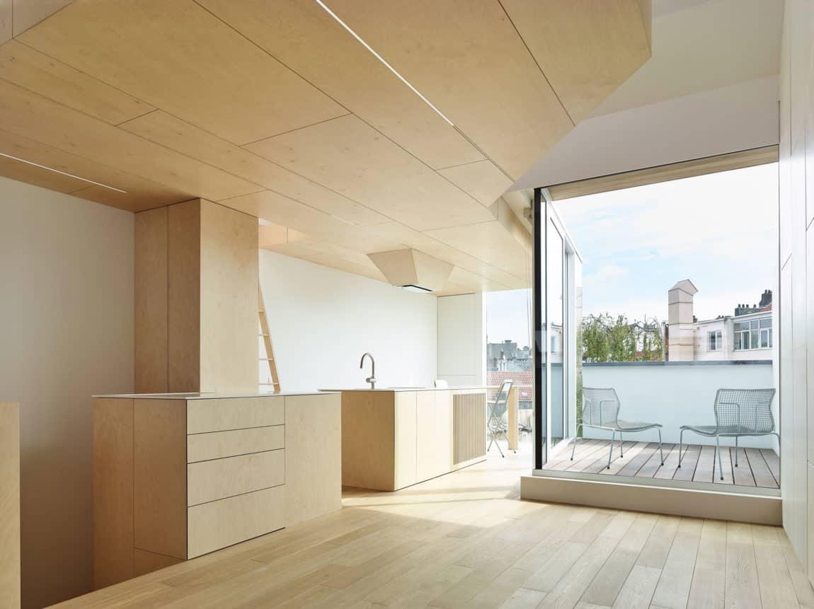 Home in Schaerbeek by Martens/Brunet Architects (7)