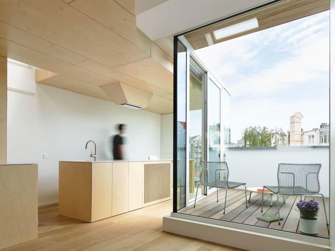 Home in Schaerbeek by Martens/Brunet Architects (8)