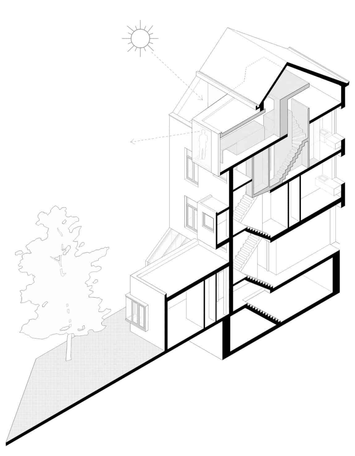 Home in Schaerbeek by Martens/Brunet Architects (25)
