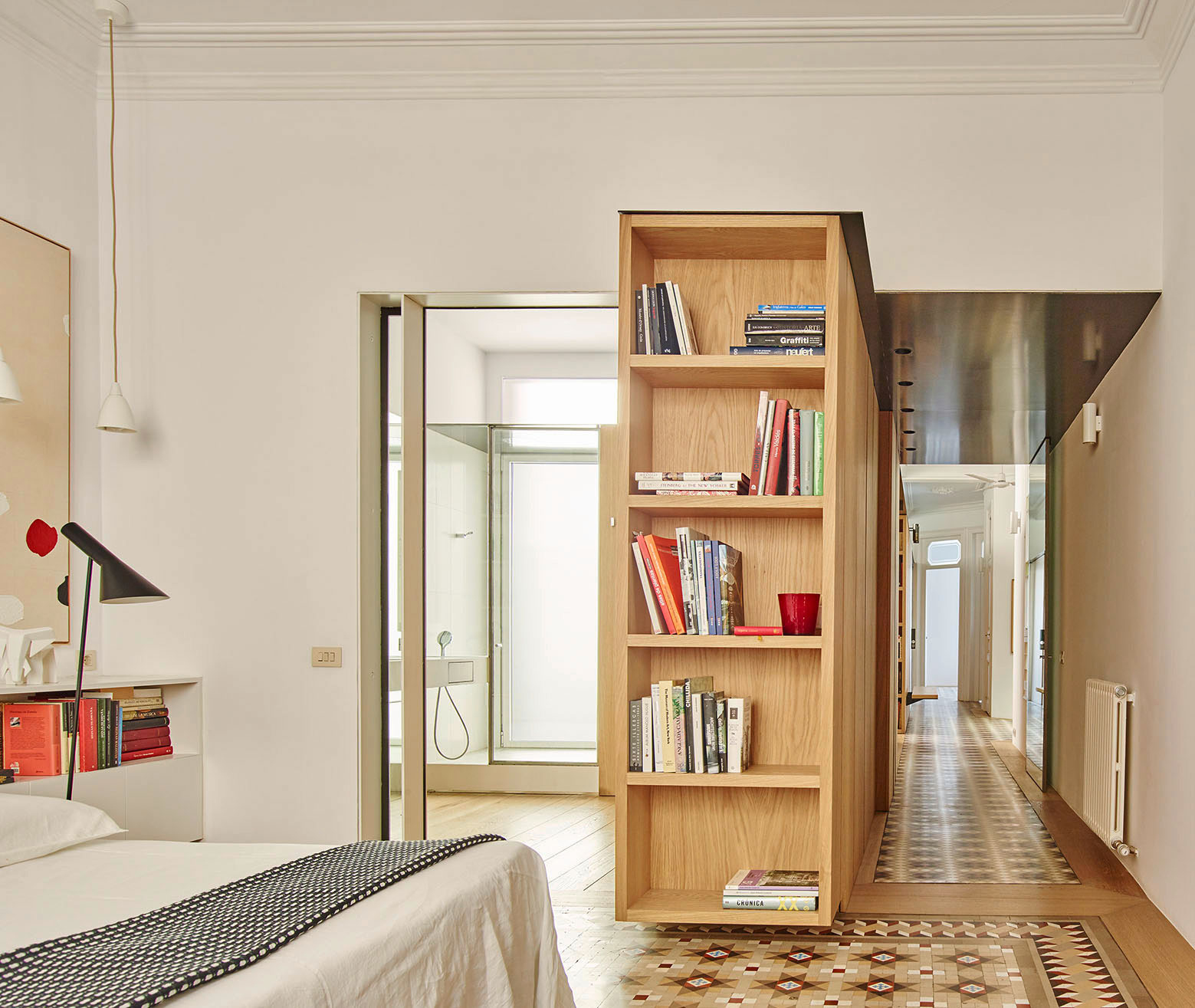Built Architecture Designs a Stylish Apartment in Barcelona, Spain