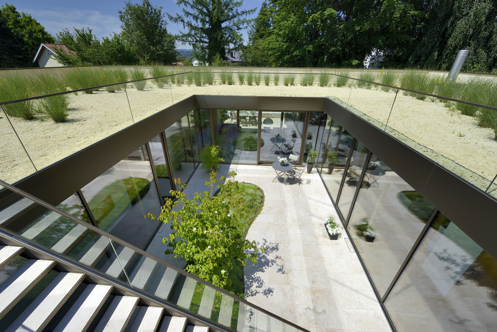 A Home With a Roof Garden in Bavaria