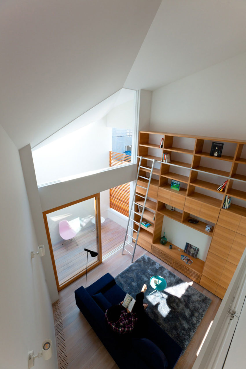 House in Nagoya by Atelier Tekuto (6)