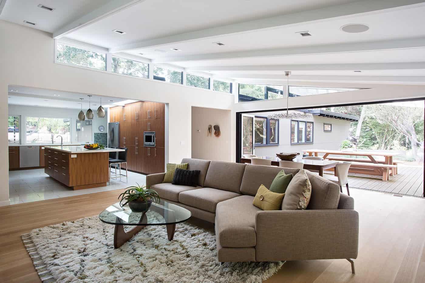 Mcm Design architecture renovate a residence in lafayette california