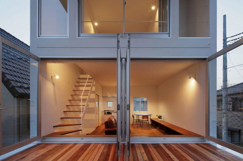 Little House with a Big Terrace by Takuro Yamamoto (16)