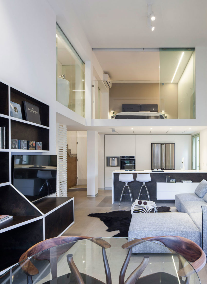 contemporary loft furniture. Contemporary Loft Furniture. View In Gallery Apartment By BLV Design/Architecture (1 Furniture