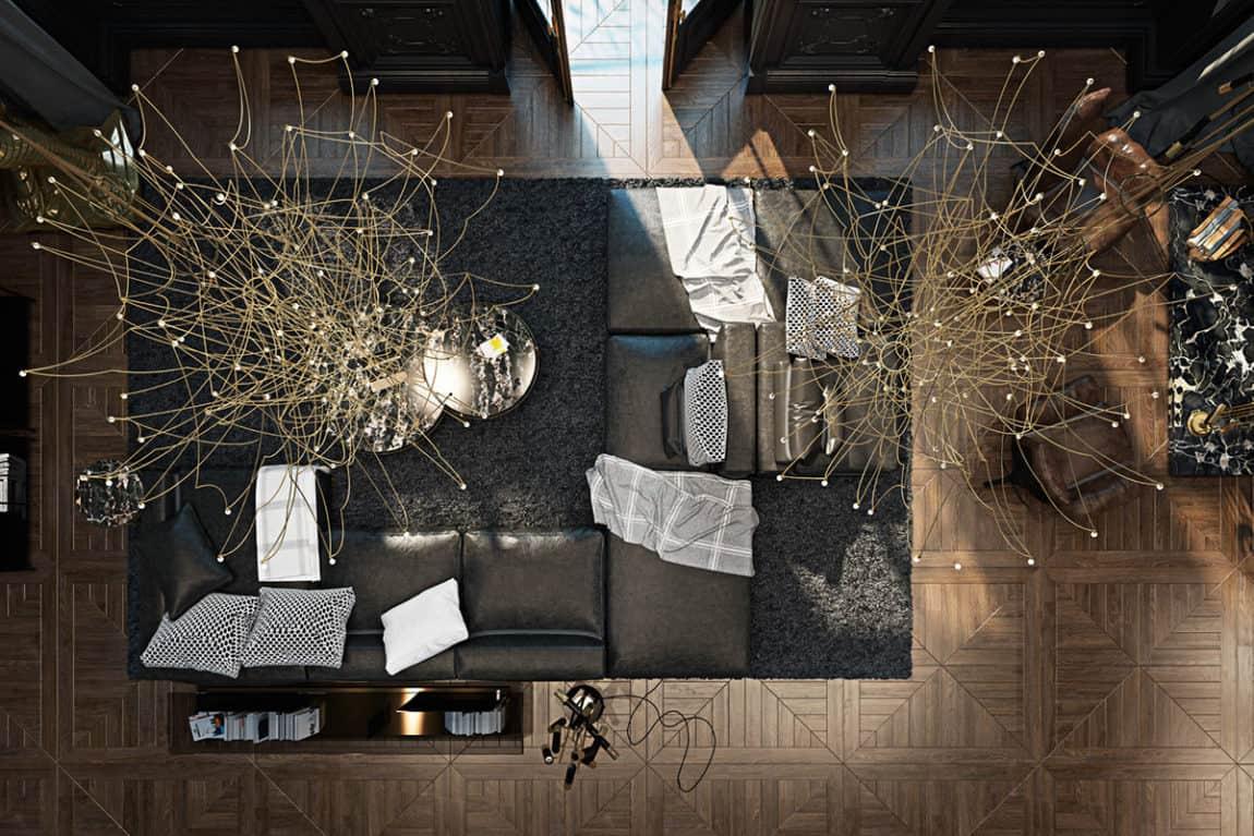 Paris Apartment by Iryna Dzhemesiuk & Vitaly Yurov (1)