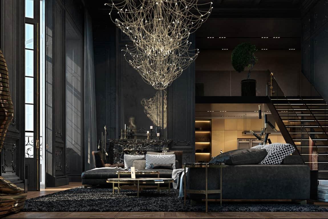 Paris Apartment by Iryna Dzhemesiuk & Vitaly Yurov (5)