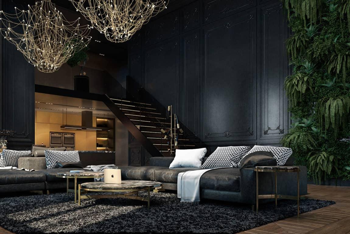 Paris Apartment by Iryna Dzhemesiuk & Vitaly Yurov (6)