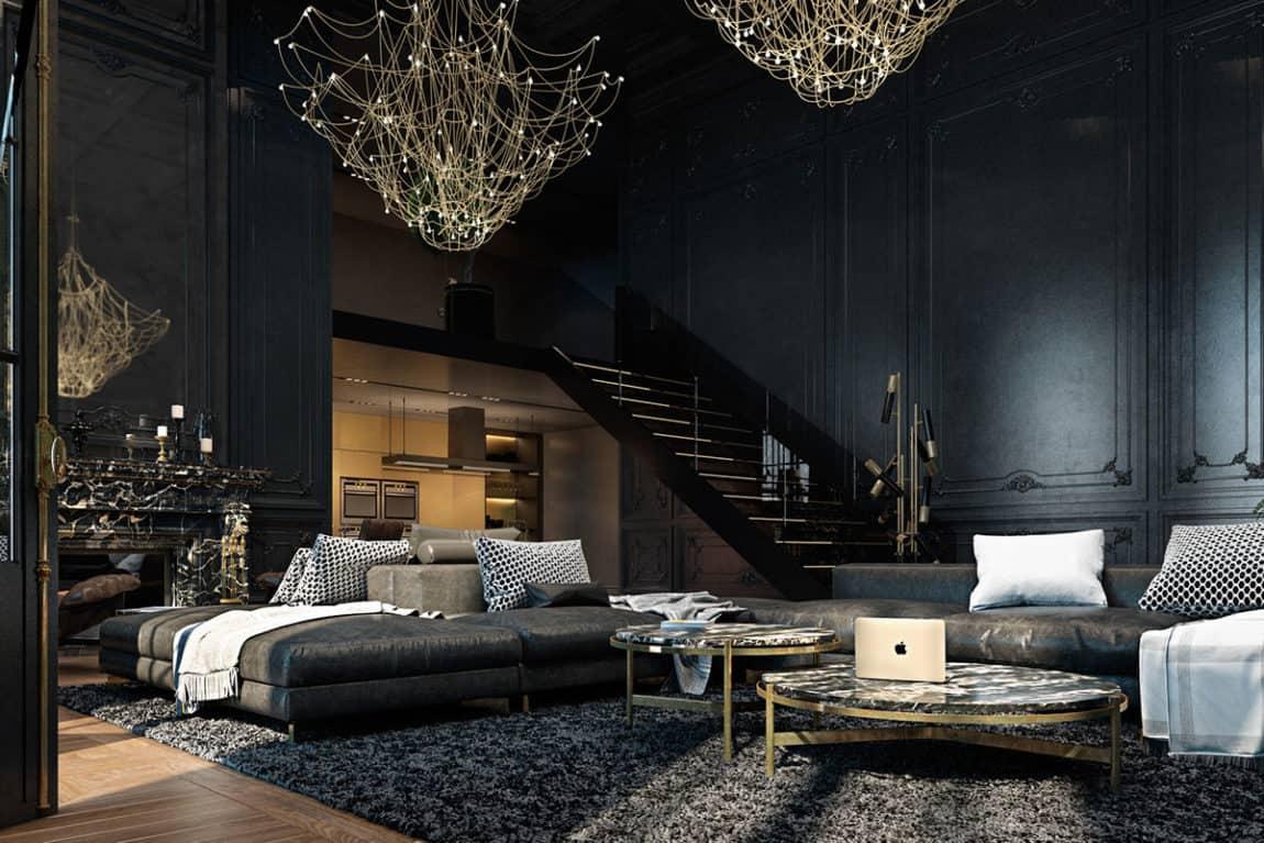 Paris Apartment by Iryna Dzhemesiuk & Vitaly Yurov (7)