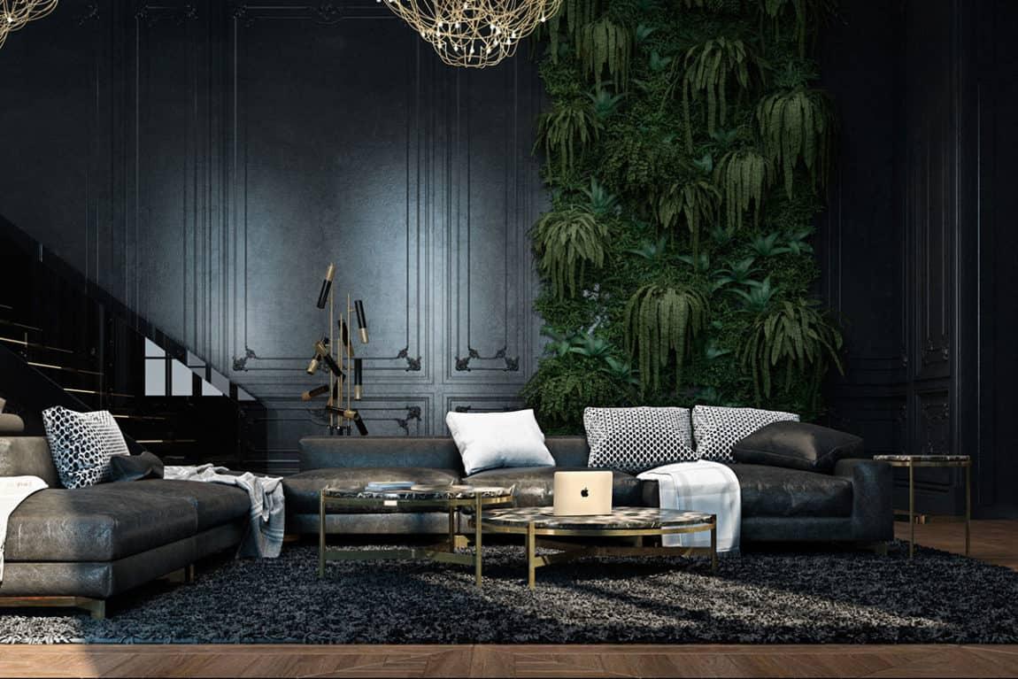 Paris Apartment by Iryna Dzhemesiuk & Vitaly Yurov (8)