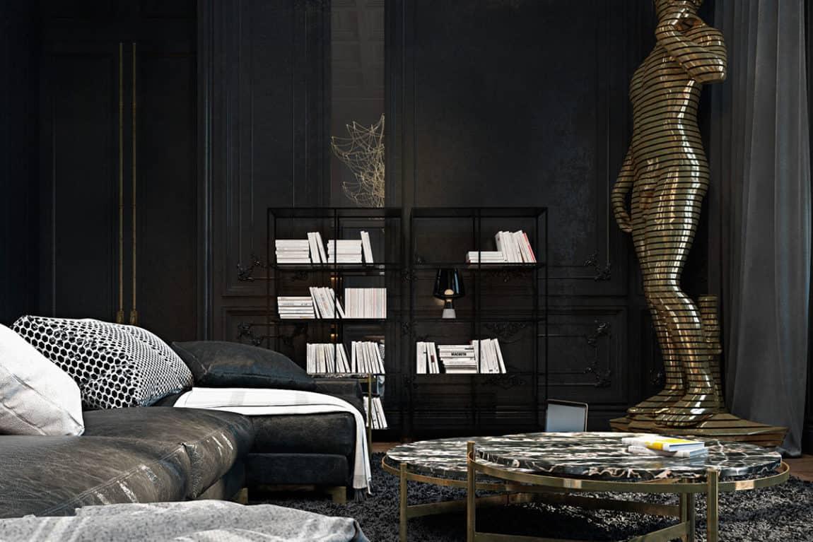 Paris Apartment by Iryna Dzhemesiuk & Vitaly Yurov (9)
