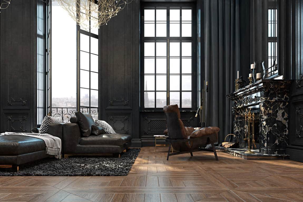 Paris Apartment by Iryna Dzhemesiuk & Vitaly Yurov (10)