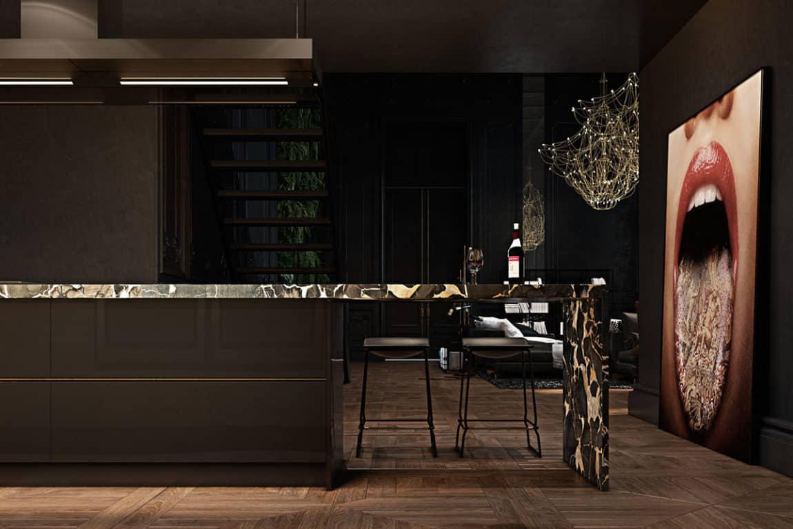 Paris Apartment by Iryna Dzhemesiuk & Vitaly Yurov (17)