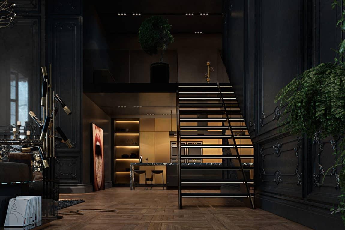 Paris Apartment by Iryna Dzhemesiuk & Vitaly Yurov (18)