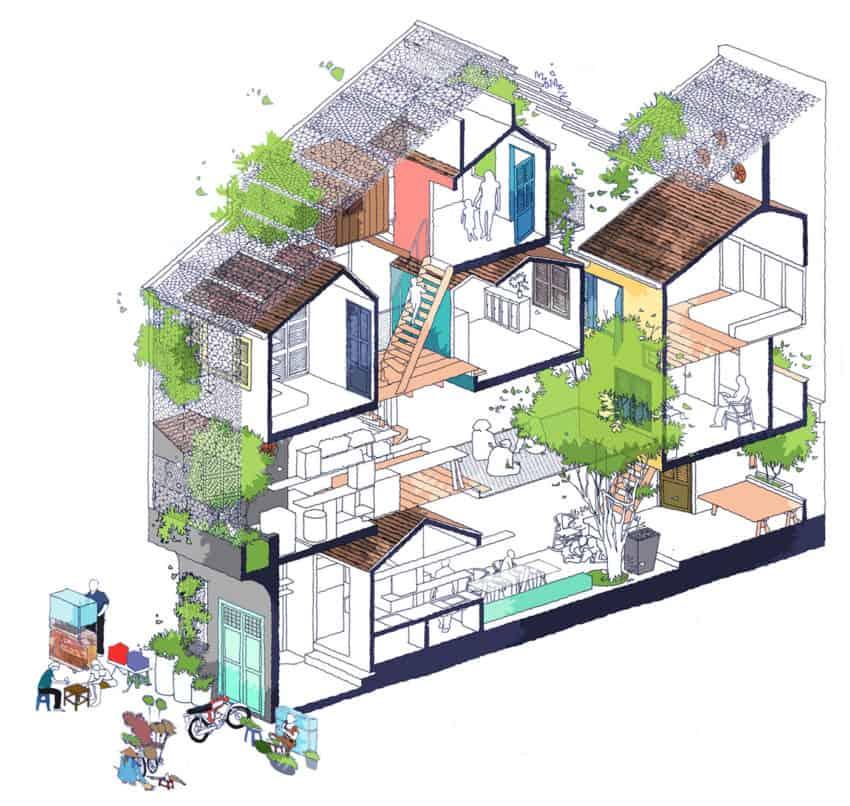 SaiGon House by a21studĩo (19)