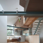 Small House with Floating Treehouse by Yuki Miyamoto A (10)