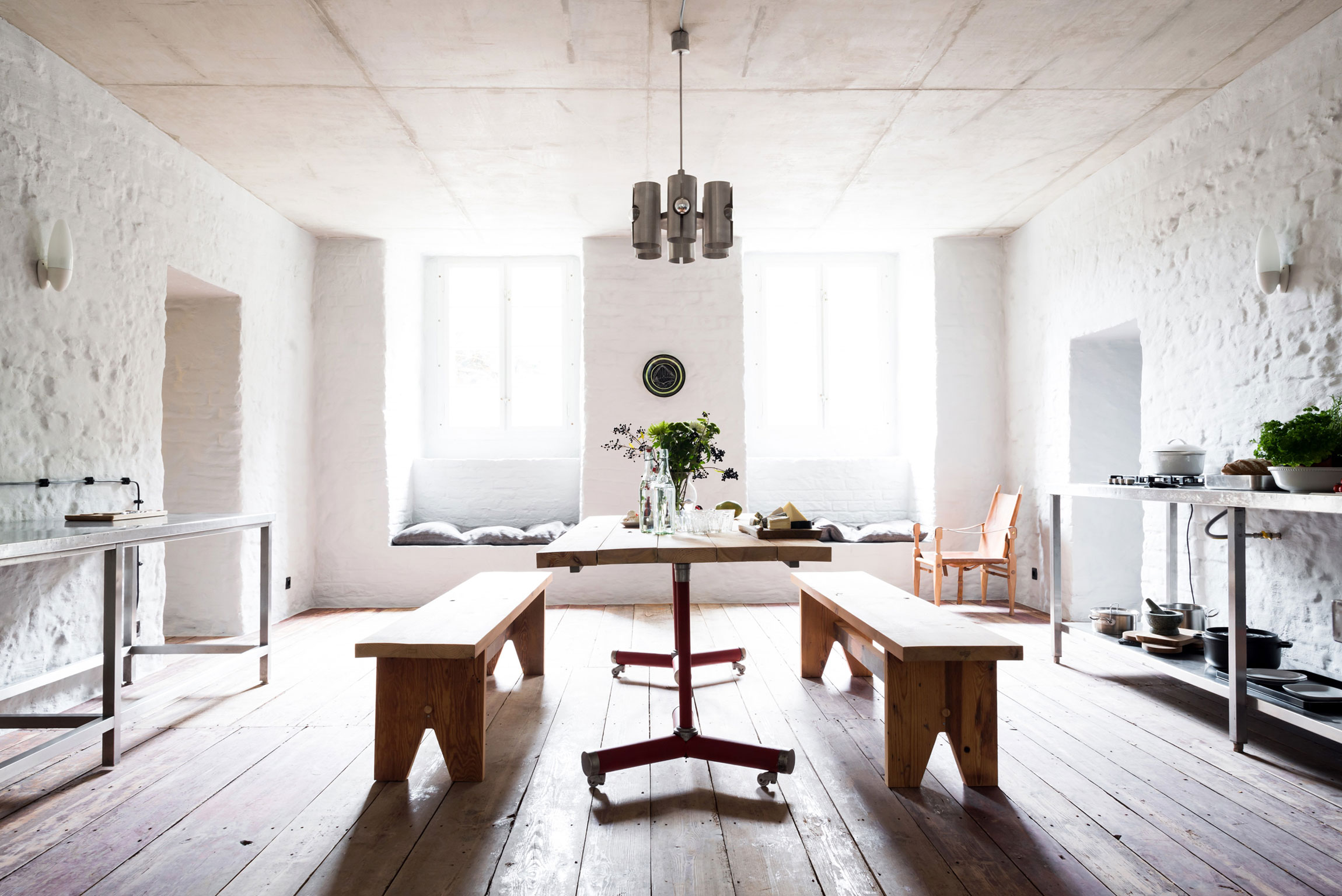A Stylish and Unique Summer Apartment in the Suburbs of Berlin
