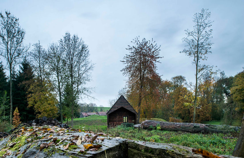 Woodland Cabin by De Rosee Sa Architects (4)