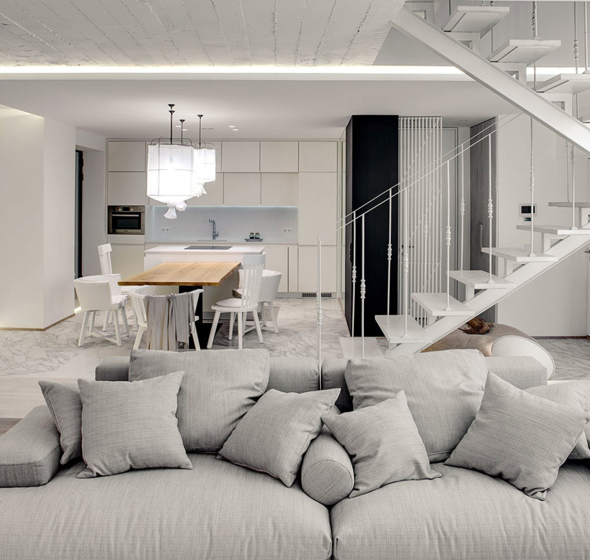 A Bright White Home by FORM Architectural Bureau (5)