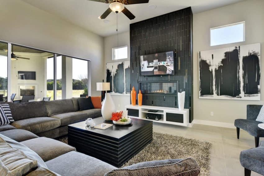 A Contemporary Model Home in Cedar Park, Texas