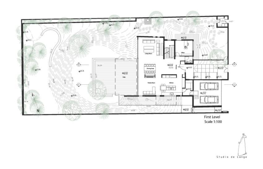 An Aluminum Vested Home by Studio de Lange (14)