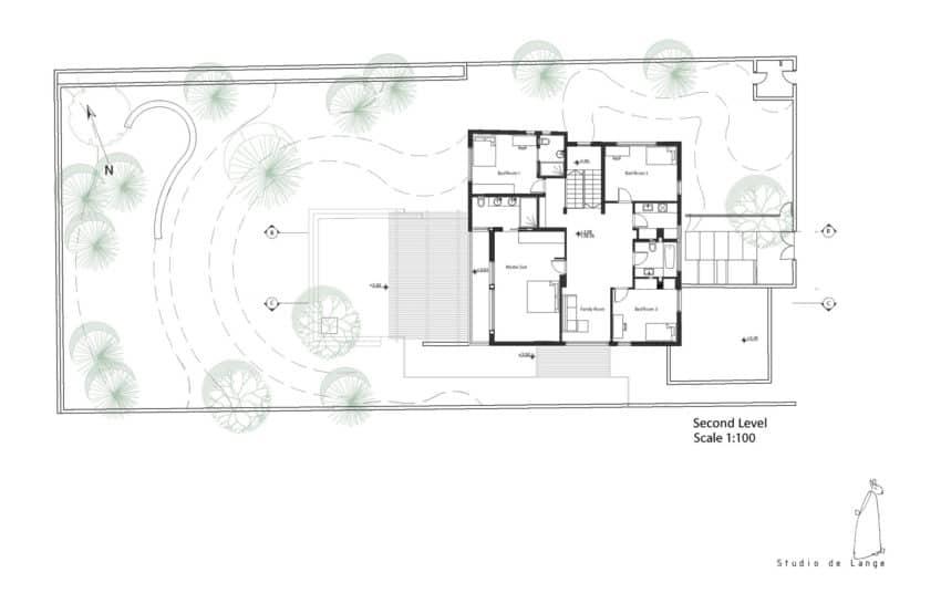 An Aluminum Vested Home by Studio de Lange (15)