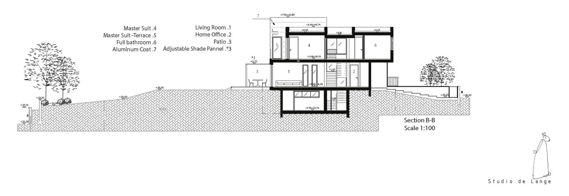 An Aluminum Vested Home by Studio de Lange (16)