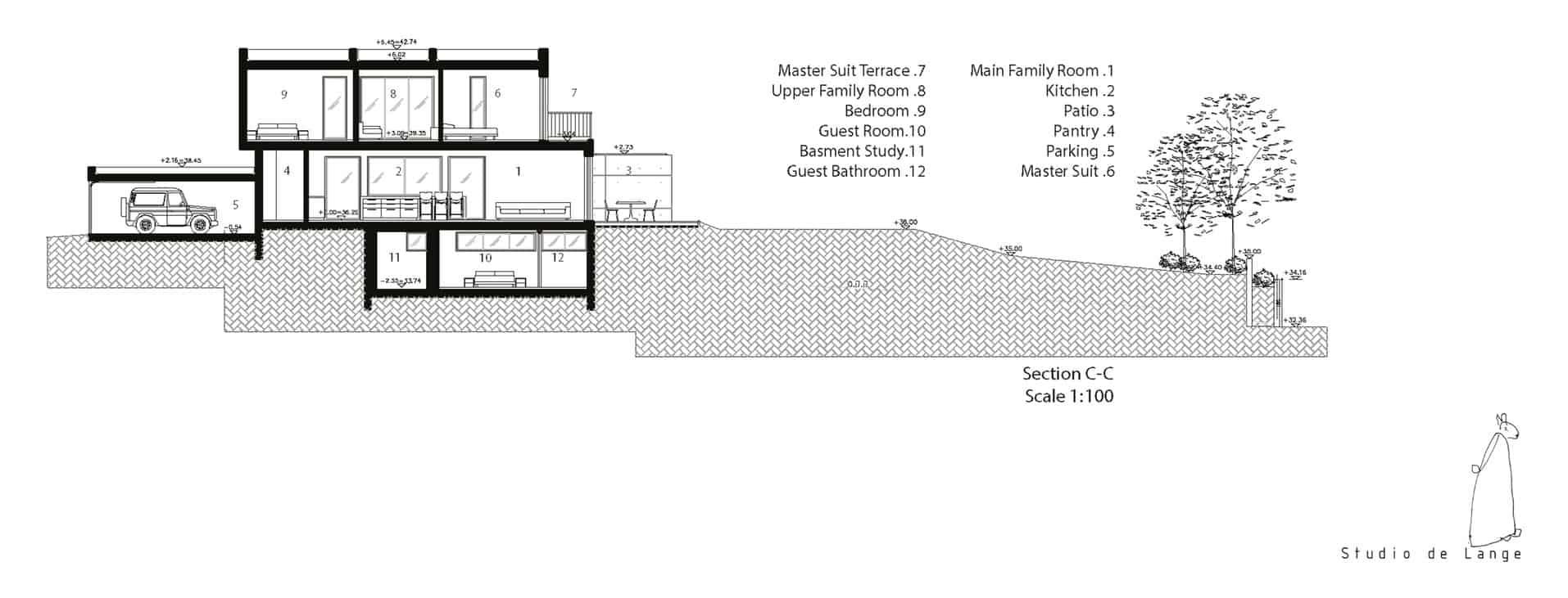 An Aluminum Vested Home by Studio de Lange (17)