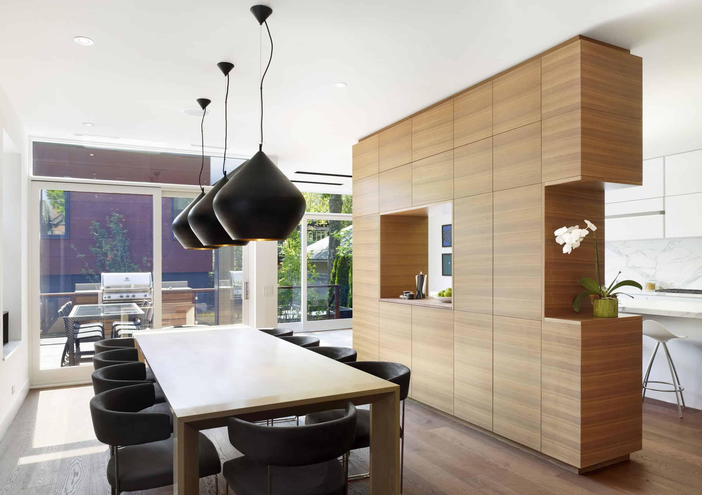 DUBBELDAM Architecture + Design Create an Elegant Contemporary Home in Toronto