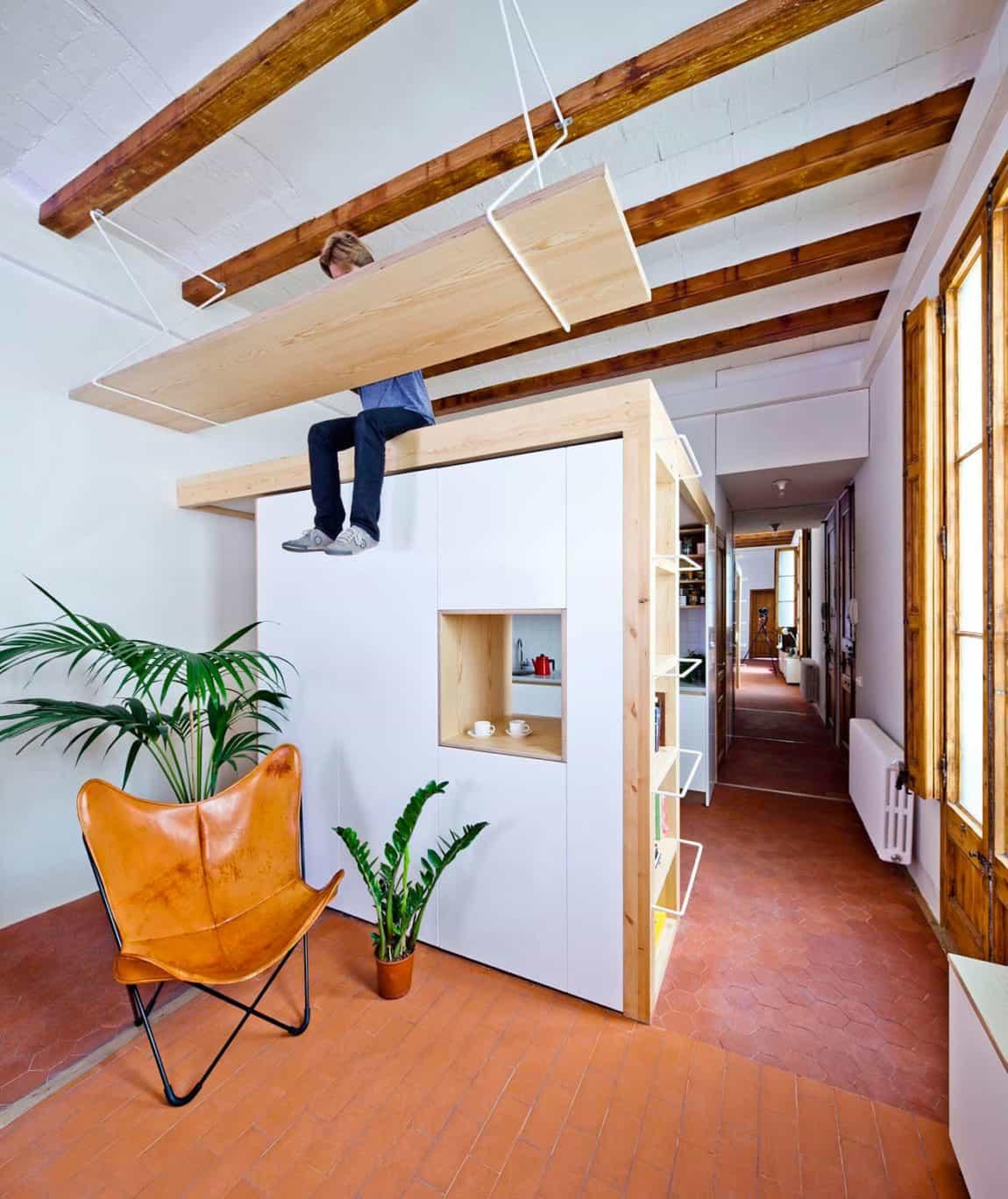 Apartment Refurbishment in Gran Via by A&E Bach (3)