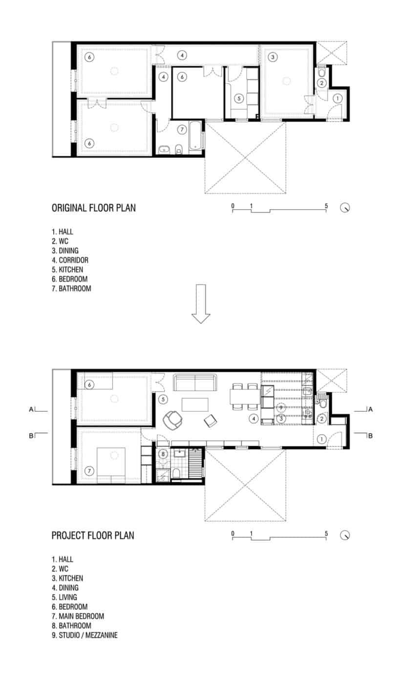 Apartment Refurbishment in Gran Via by A&E Bach (12)