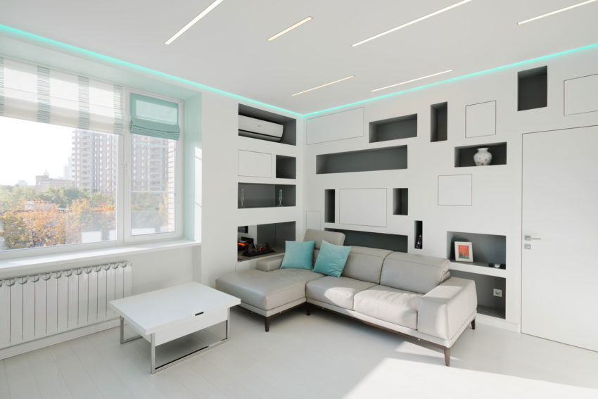 Apartment in Moscow by Shamsudin Kerimov (9)