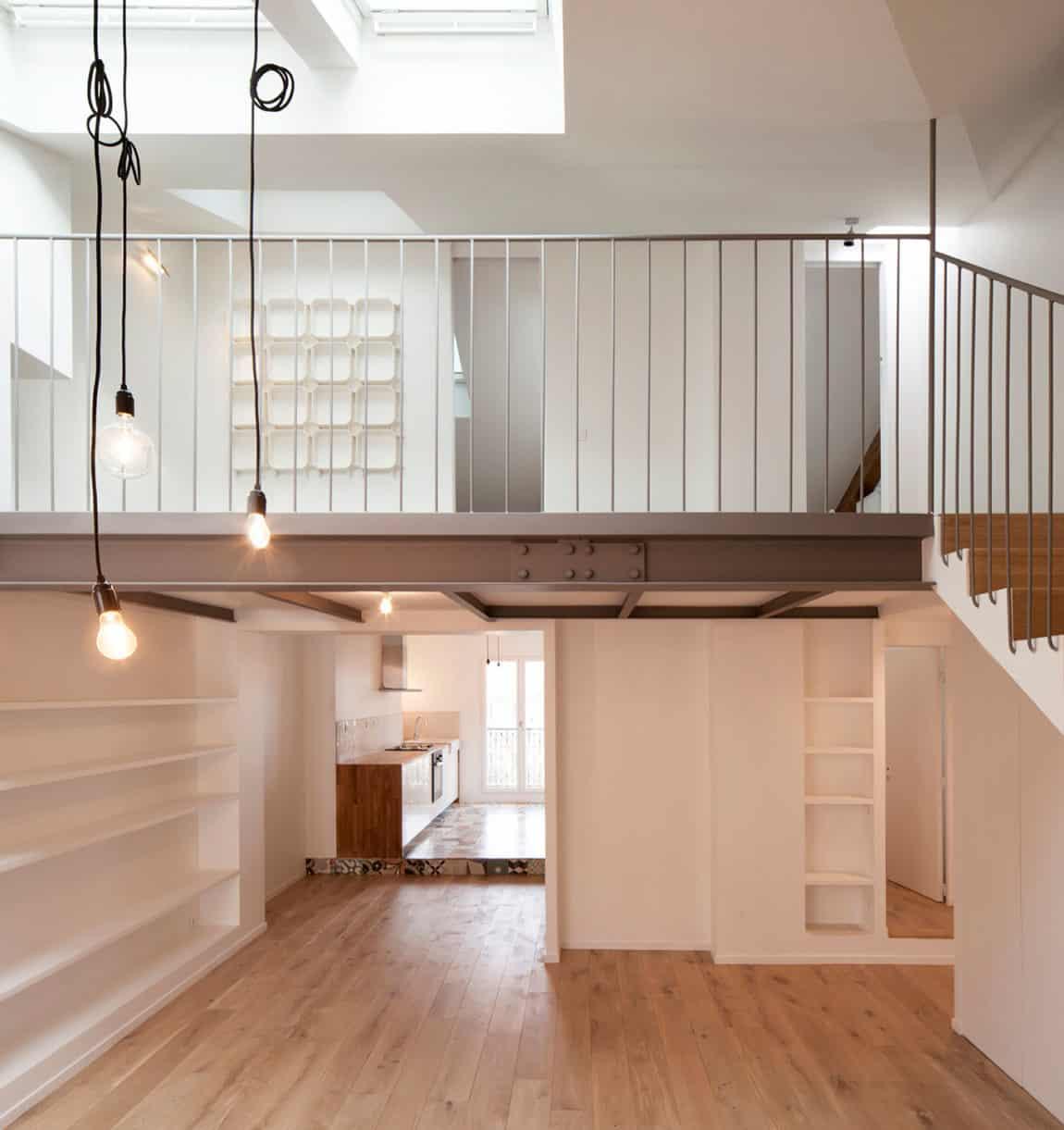 Duplex in Saint-Mandé by CAIROS Architecture et Paysage (1)